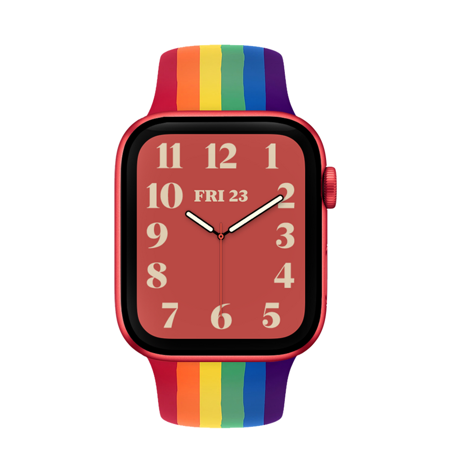 Band for Apple Watch, Silicone Classic, Pride