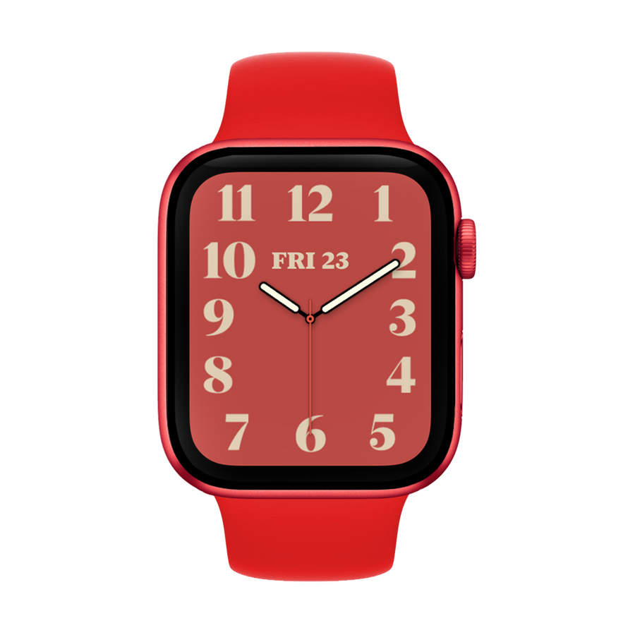 Band for Apple Watch, Silicone Classic, Red