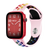 Band for Apple Watch, Sport Silicone, Pink-Rainbow