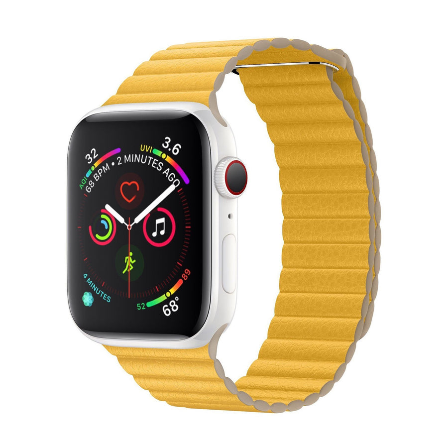Apple Watch Band Milanese Leather Summer 2020