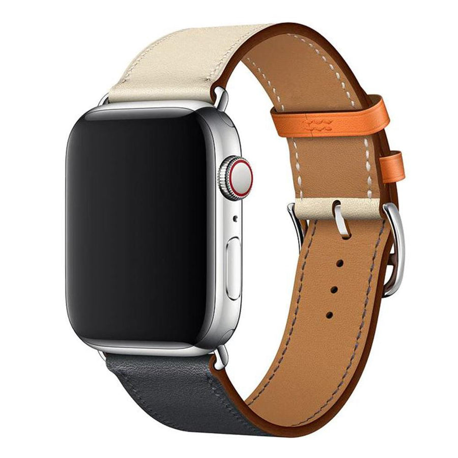 Apple Watch Band, Leather Style Two Colors. 2-4 Days Shipping