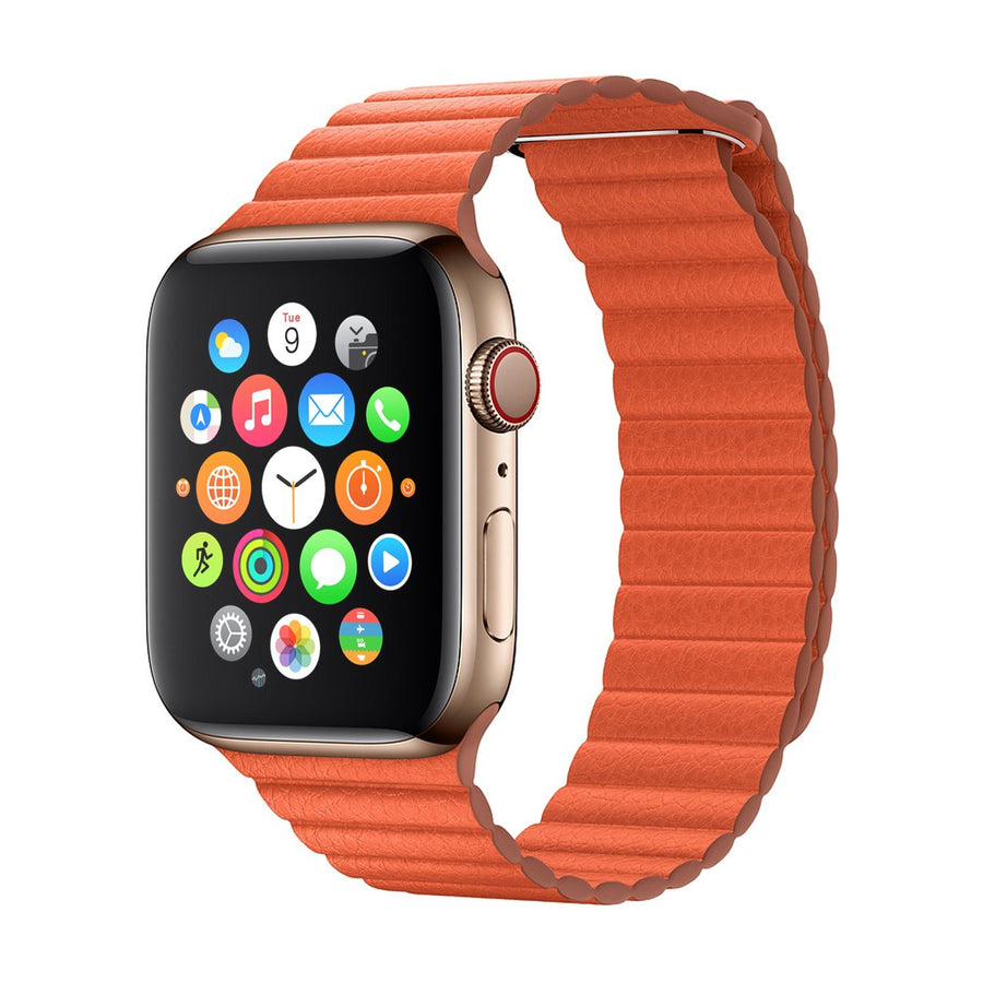 Apple Watch Band Milanese Leather Summer 19