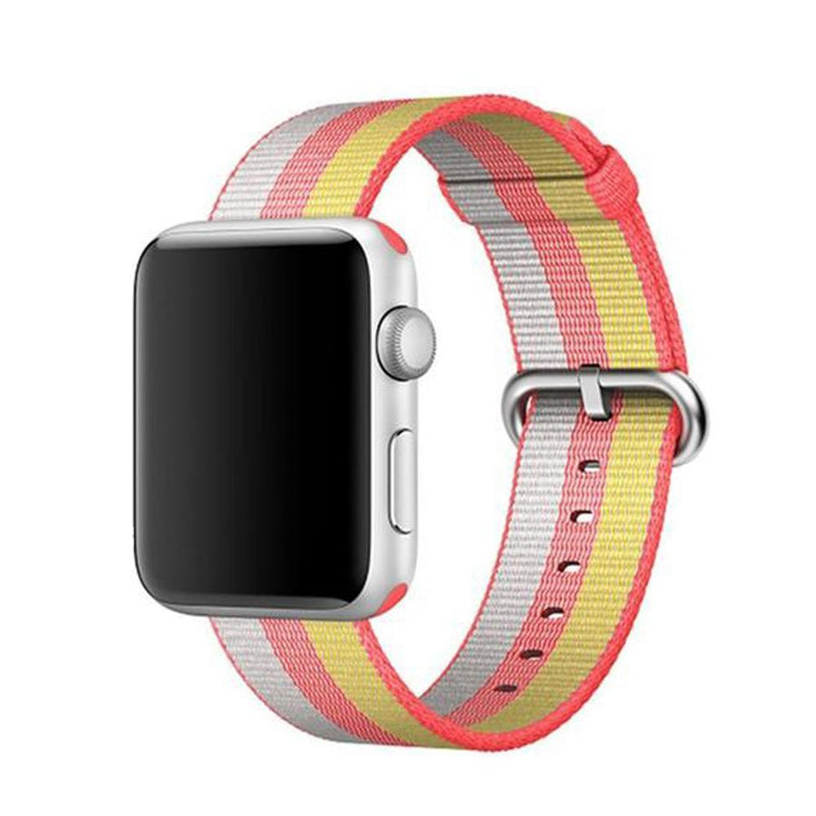 Apple Watch Band, Nylon, Multi-Colors, 2-4 days Delivery