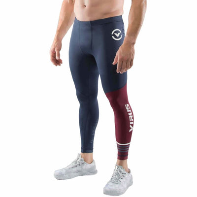 Virus Action Sport Performance | Mens Rx8 Navymaroon - S