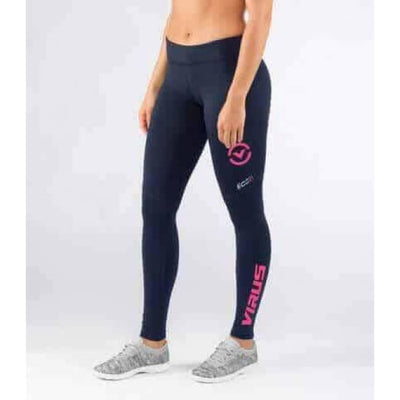 Virus Action Sport Performance | Womens Eco21 | Navy-Coral - S