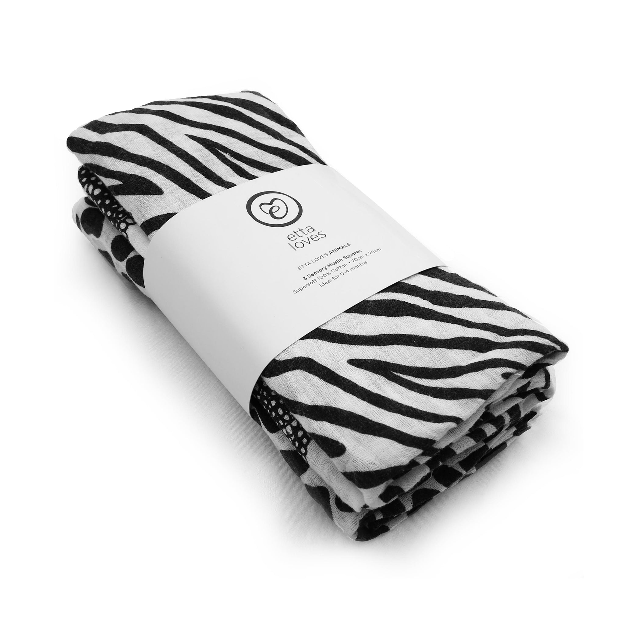 Animal Collection sensory muslins