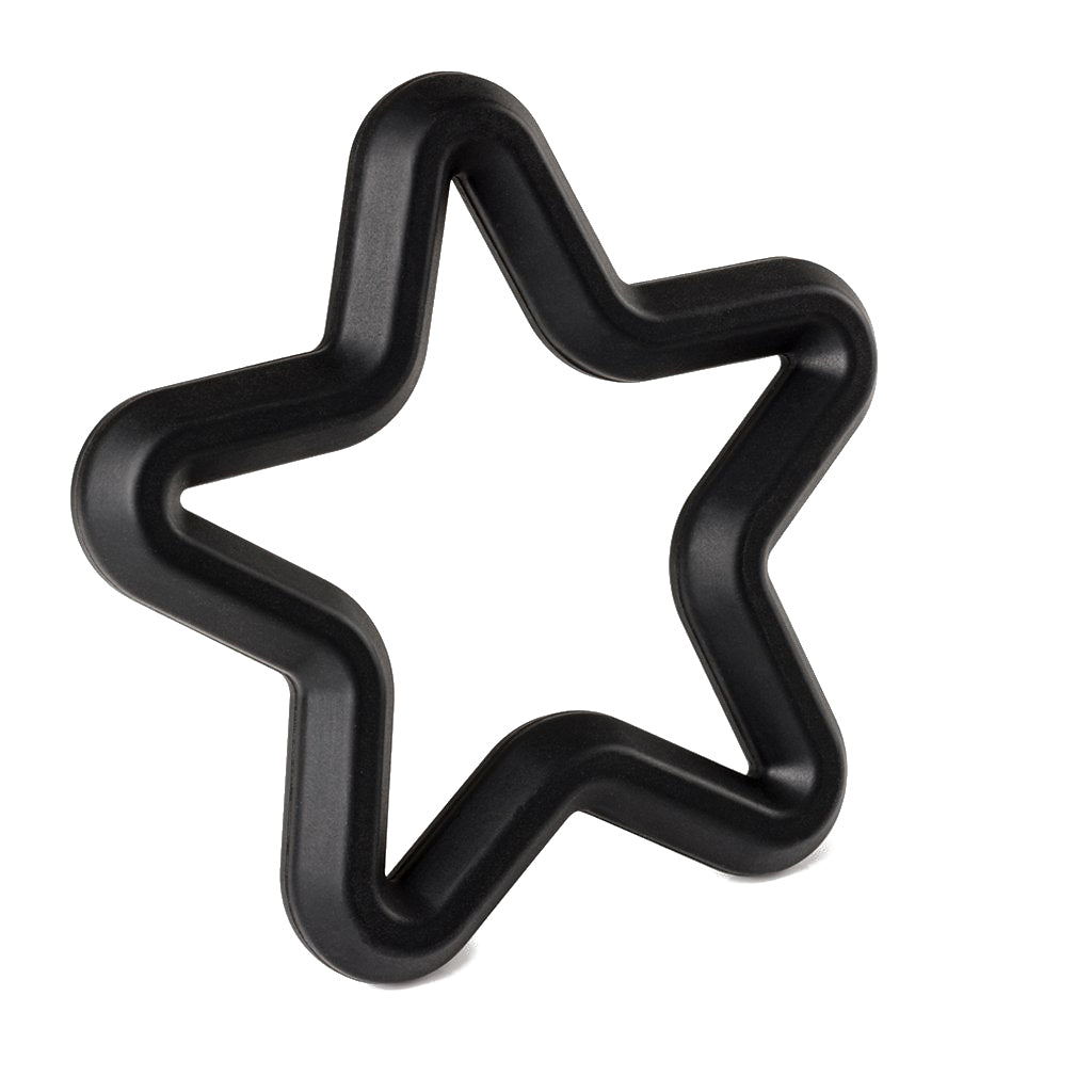 Black Hera Star teether
