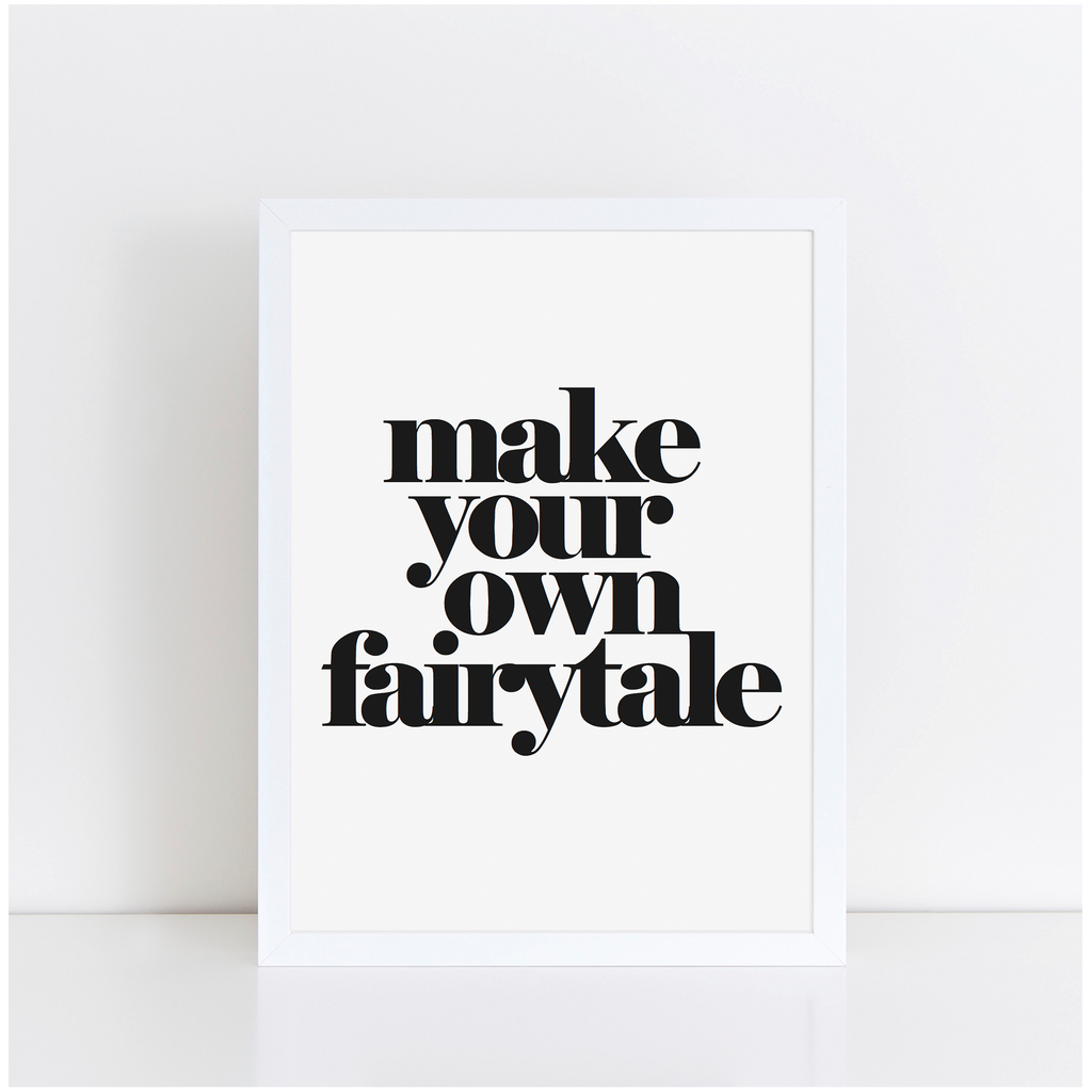 Make your own Fairytale A4 print