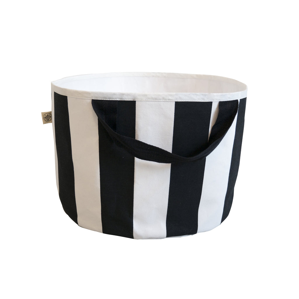 Shallow Stripe toy storage bag