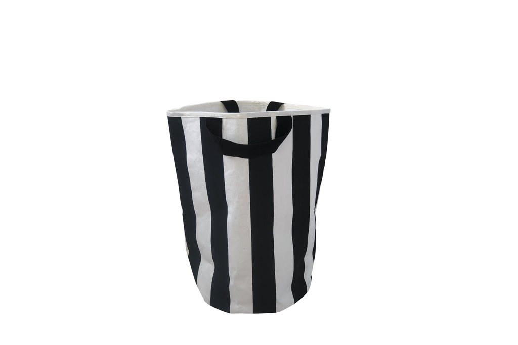 Stripe toy storage bag
