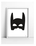 Superhero nursery print