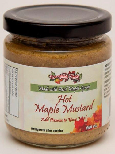 Hot Maple Mustard