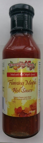 Flaming Maple Hot Sauce