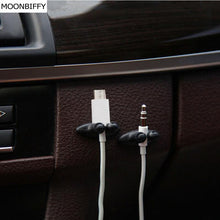 8Pcs Car Wire/USB Cable Holder