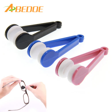 Multi-function Glasses Wipe Clamp