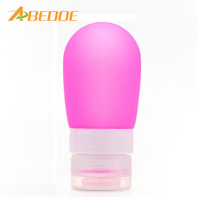 Makeup Refillable Travelling Silicone Bottles