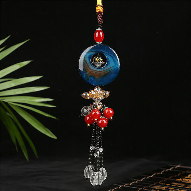 Car Hanging Pendant Chinese Folk Style