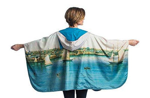 Rain Caper Museum Collection Newport Harbor Rain Cape