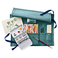 Metropolitan Museum Luxury Linen Watercolor Set