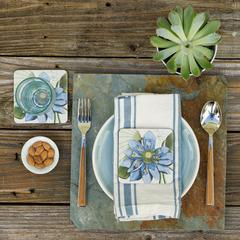 Blue Sea Fan Placemats - Set of Four