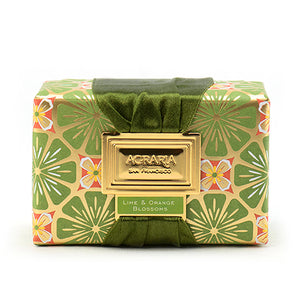 Agraria Lime and Orange Blossom Luxury Soap