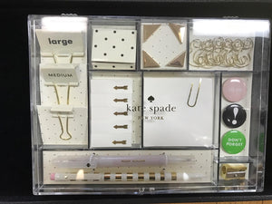 Kate Spade Office Supply Kit