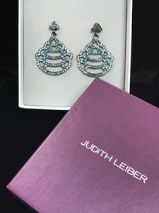 Judith Leiber Drop Earrings