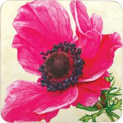 Set of Four Poppy Coasters