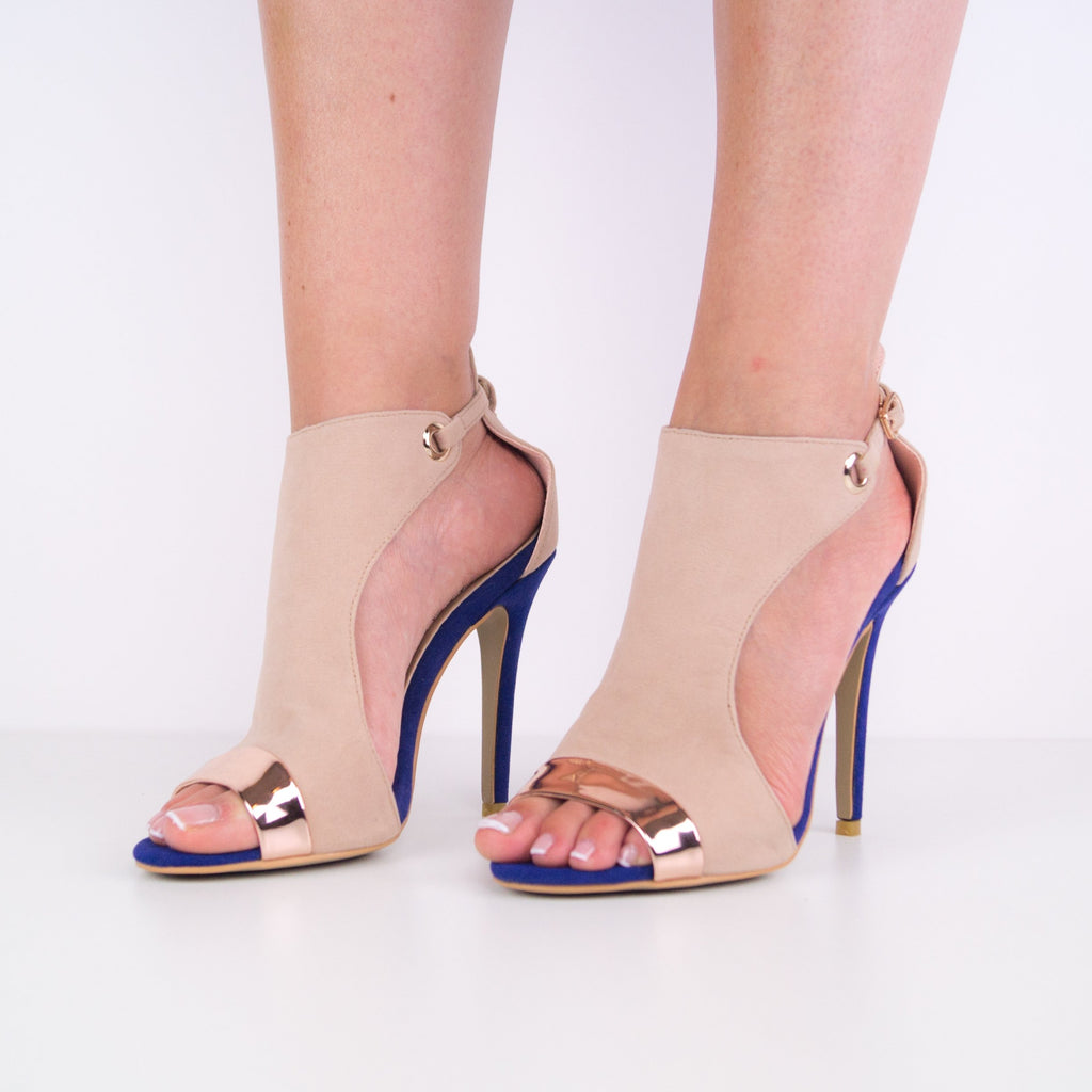 Grace - Two Tone Stiletto heel