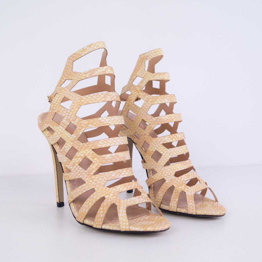 Melany - Sandal with stiletto heel