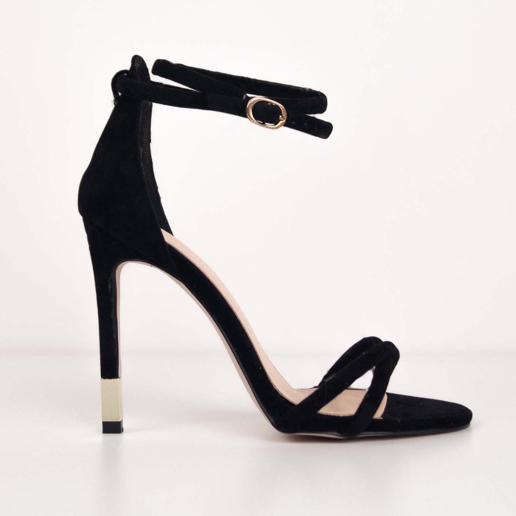 INGRID - Stiletto Heels with Gold Detail