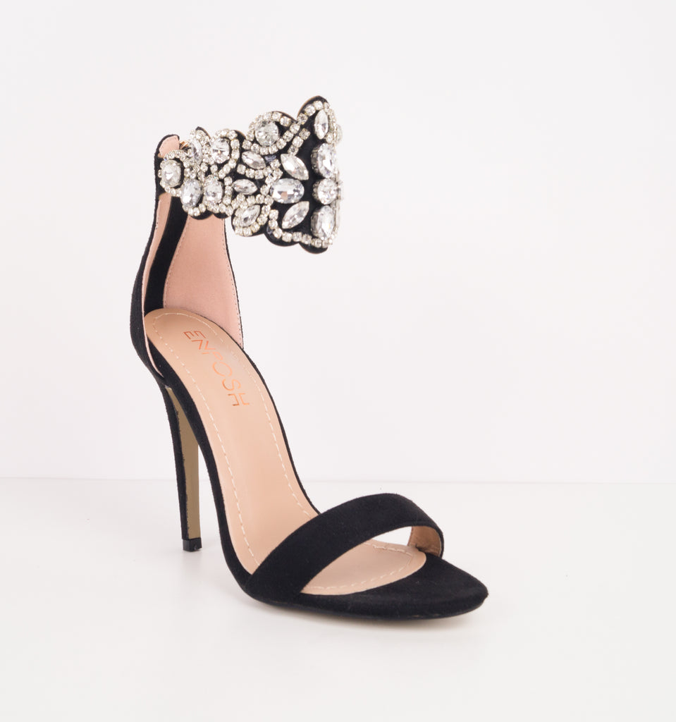 Nefertiti Queen Gem Stiletto Heels