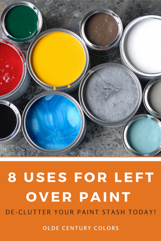8 diy projects to use up old paint