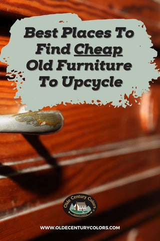 where to Find Cheap Old Furniture To Upcycle