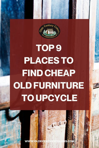Best Places To  Find Cheap  Old Furniture  To Upcycle