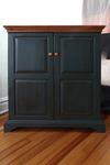 Olde Century Colors Yankee Blue painted furniture