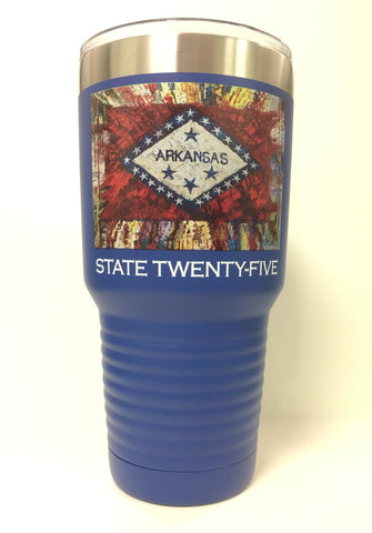 Arkansas State Flag 30 Oz. Polar Mug... Royal Blue
