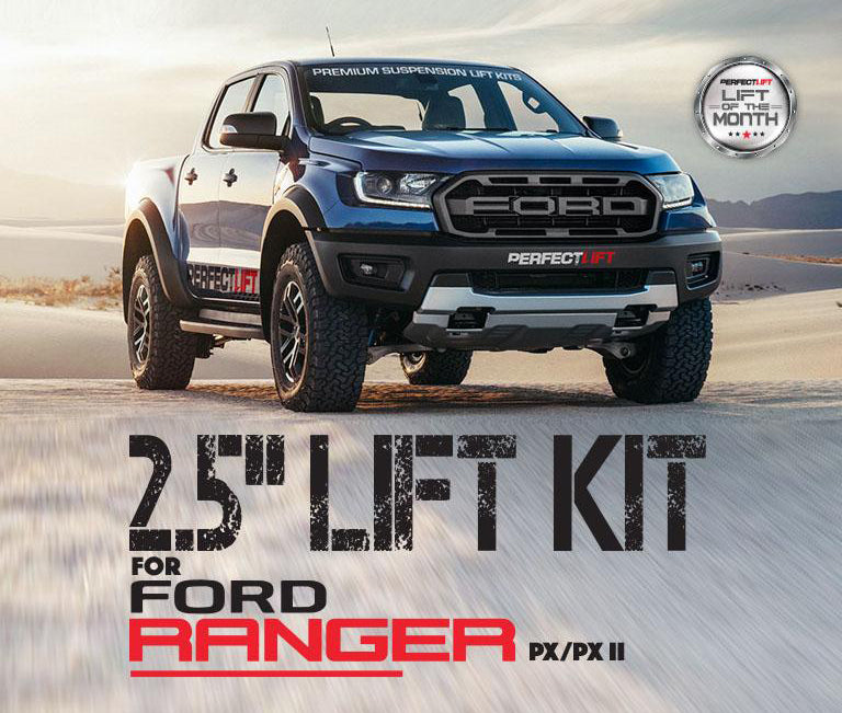 Fits Ford Ranger PX 50mm Rear Block Lift Kit 2012 Onwards