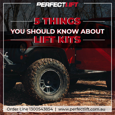 5 things you should know about lift kits