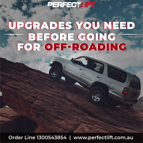upgrades you need before going for off-roading