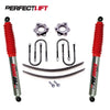 "2.75"" Front and 1.75"" Rear Lift Kit FOTON TUNLAND 2WD Pro Shock"