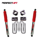 "2.5"" Front and 2"" Rear Lift Kit Isuzu Dmax 2012 Onwards Pro Shock - PLK 4002R9"