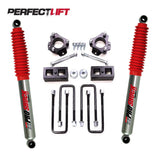 "2.75-3"" Front and 1"" Rear Lift Kit FOTON TUNLAND Pro Shock"