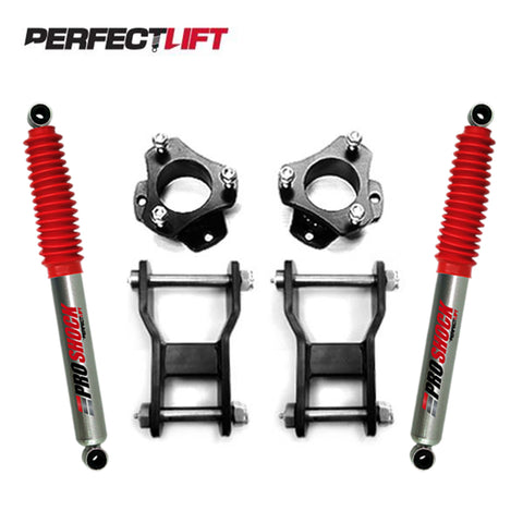 "2.5"" Front and 2"" Rear Lift Kit Isuzu Dmax 2012 Onwards Pro Shock"