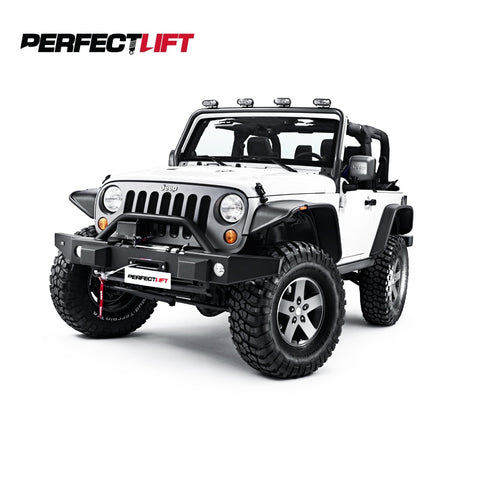 "2"" Front and 2"" Rear Jeep Wrangler JK Lift Kit Pro Shocks"