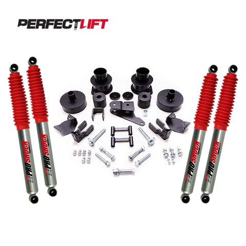 "3"" Front and 2"" Rear LIFT KIT Jeep Wrangler JK with Pro Shock"