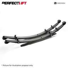 40mm Lift Leaf Springs for MITSUBISHI TRITON MQ