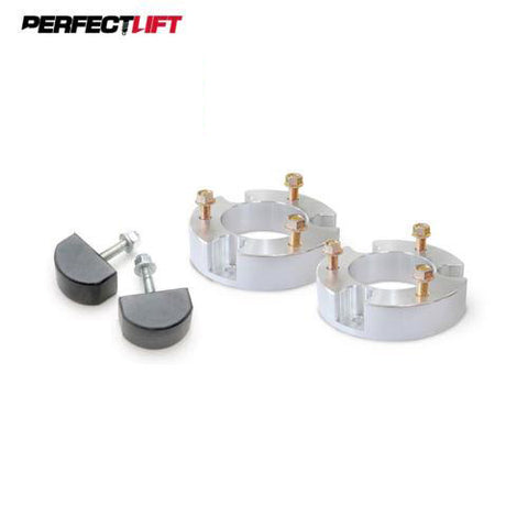 "T6 Billet Aluminium Spacers 2"" Front Lift Kit Nissan Navara D40 with Bump Stops"