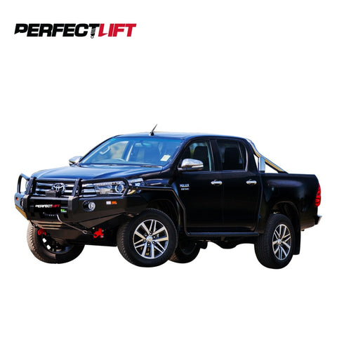 "2.75-3"" Front and 1"" Rear Lift Kit Toyota Hilux 4wd 2016 Onwards"