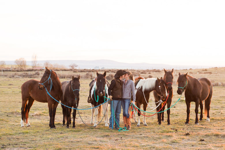 Raising Quarter Horses in Washington State with Briana and Kelly